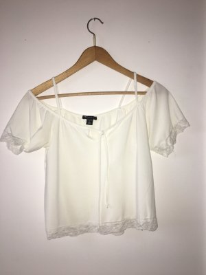Amisu T-shirt bianco sporco