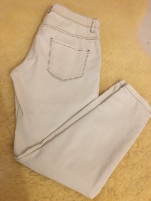 Calzedonia 7/8 Length Trousers cream-oatmeal