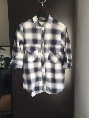 Zara Basic Camisa de leñador multicolor