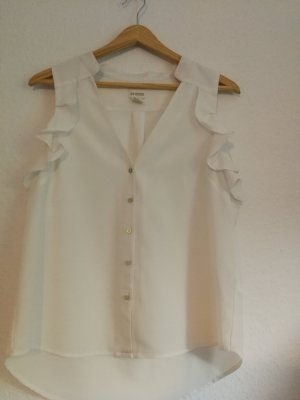 H&M Conscious Collection Sleeveless Blouse white