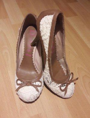 Weiss-braun Killah Schuhe