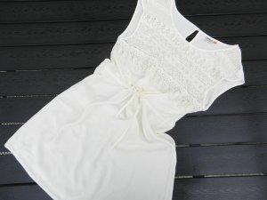 Weiß-Creme Kleid - Herbst - ONLY - 38