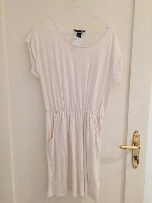 weiß - creme - Sommerkleid