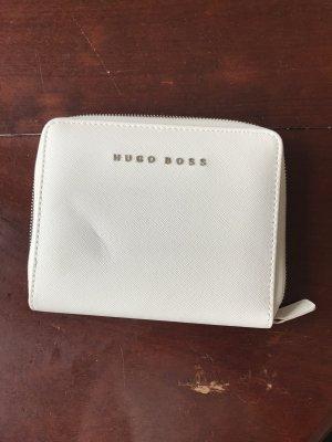 Weiß-cremefarbiges Dokumentenmäppchen von Hugo Boss