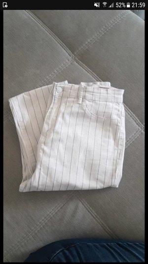 weiß gestreifte Jeans