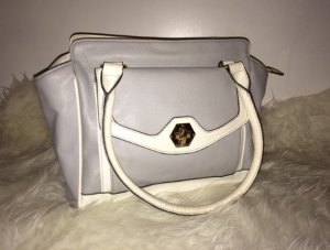 Zara Handbag multicolored imitation leather