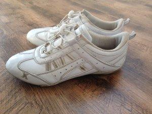 Weiß - graue Sneakers