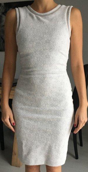 Weiss-graues Etui Kleid Marke Reiss