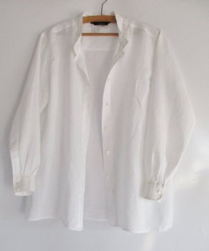 Weekend Max Mara Blouse en lin blanc lin