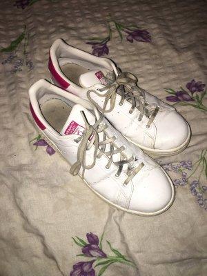 Weiß/Pinke Adidas