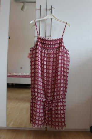 weiß-pinkes Sommerkleid von Tom Tailor Denim Größe L