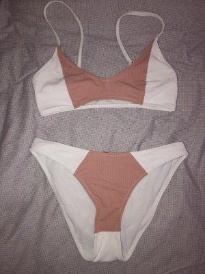 Weiß/rosa Bikini von Pretty little thing