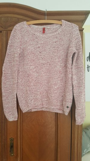 QS by s.Oliver Sweater wit-lichtrood