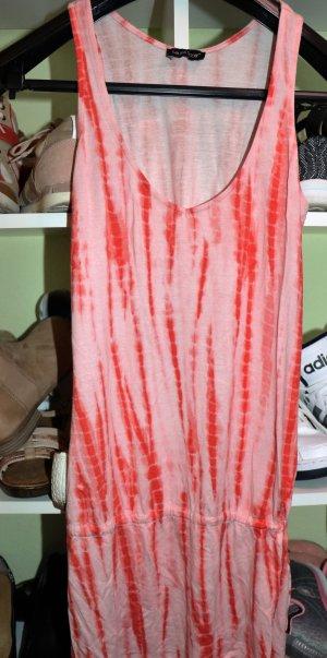 Weiß rotes etwas längeres Top