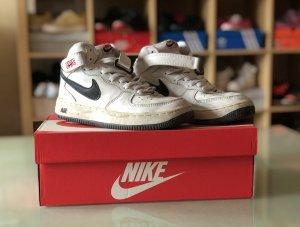 Weiß schwarze Nike Air Force 36,5