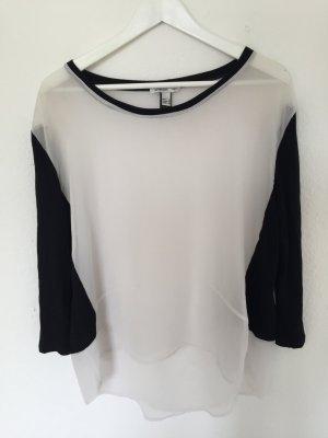 weiß / schwarzes Shirt