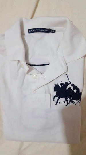 weiss T-shirt von Ralph lauren original