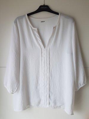 Weiße 3/4-Arm-Bluse von Marc Cain
