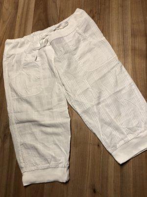 Weiße 3/4-Hose - luftig - sportlich