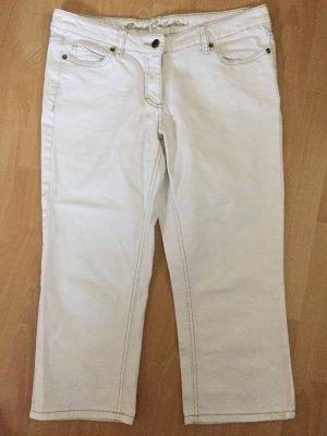 Weiße 3/4 Hose von Esprit Größe 40