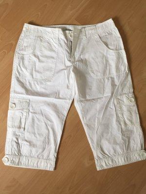 Weiße 3/4 Hose von Zabaione in Größe 40
