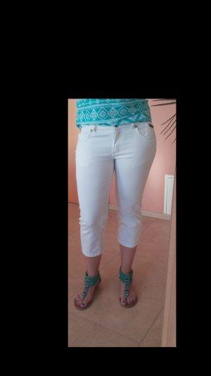 Weiße 3/4 Jeans Gr. 36 von MillionX
