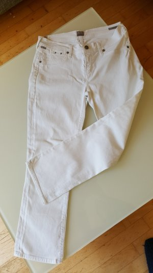 Citizens of Humanity Jeans 3/4 blanc coton