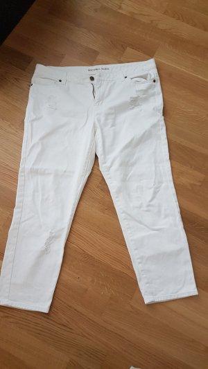 Michael Kors Jeans a 3/4 bianco Cotone