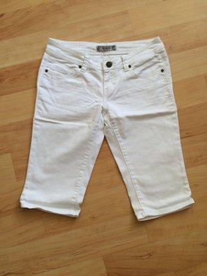 Weiße 3/4-Jeans von Pimkie