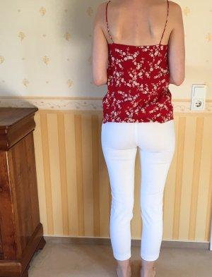 Zara 7/8 Length Trousers white