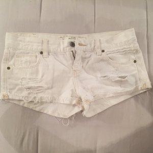Weiße Abercrombie Shorts zu verkaufen