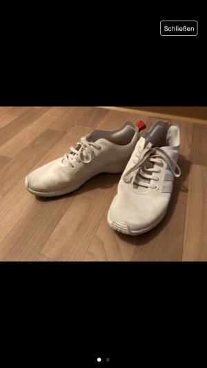 Adidas Originals Sneakers wit-rood