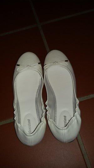 Weiße Ballerina's - Top Zustand :)