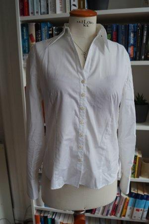 Weiße Basic Bluse von Eterna Gr.38