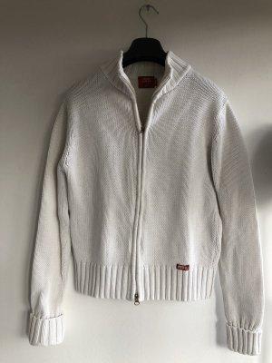Weisse Baumwolle Jacke