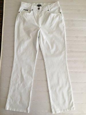 Weiße Baumwollhose von Strauss Women