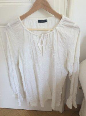 Weiße Baumwolltunika mit Spitze Hippie, Boho, Strand - perfekt für den Sommer