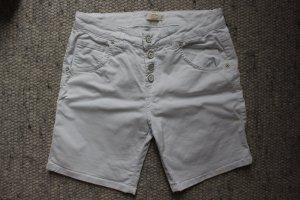 Everis Bermudas white cotton