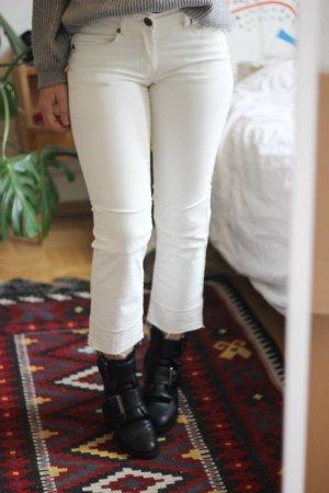 Weiße beschichtete Hose von IKKS