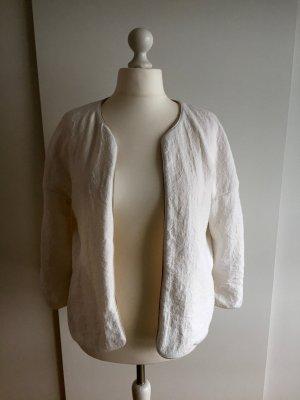 Weiße Blousonjacke von Zara