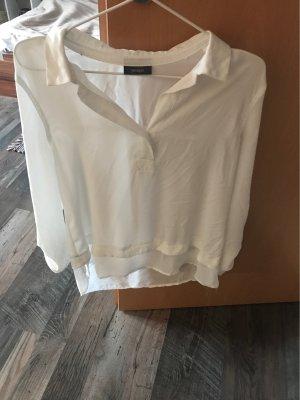 Yessica Cuello de blusa blanco