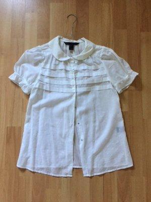 Weiße Bluse
