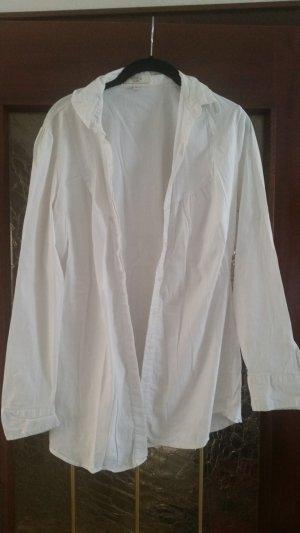 Anne L. Long Sleeve Blouse white