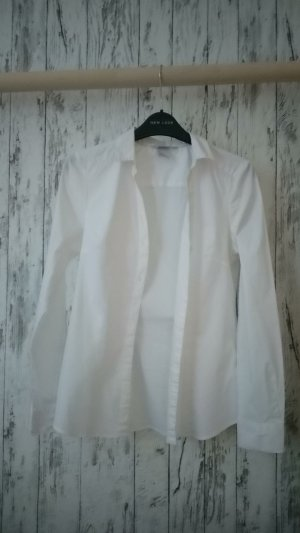 H&M Cuello de blusa blanco