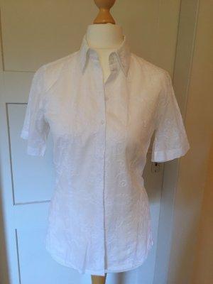 Short Sleeved Blouse white cotton