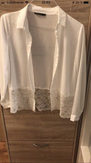Blouse-chemisier blanc