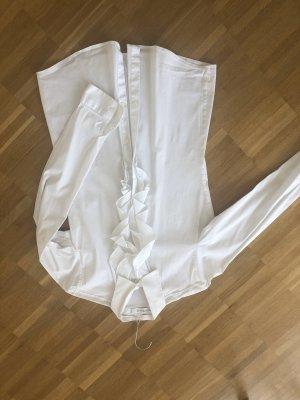 Aglini Ruffled Blouse white