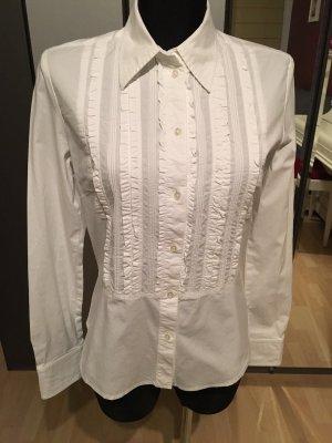 weisse Bluse aus Baumwolle