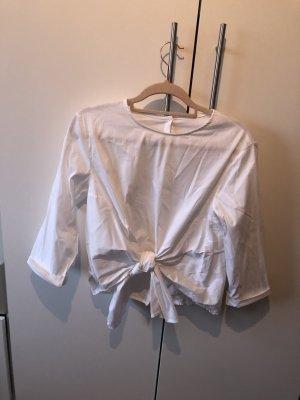 Weiße Bluse aus Italien