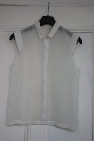 American Apparel Mouwloze blouse wit Viscose